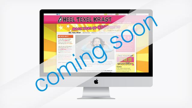 Heel Texel Krast - Website